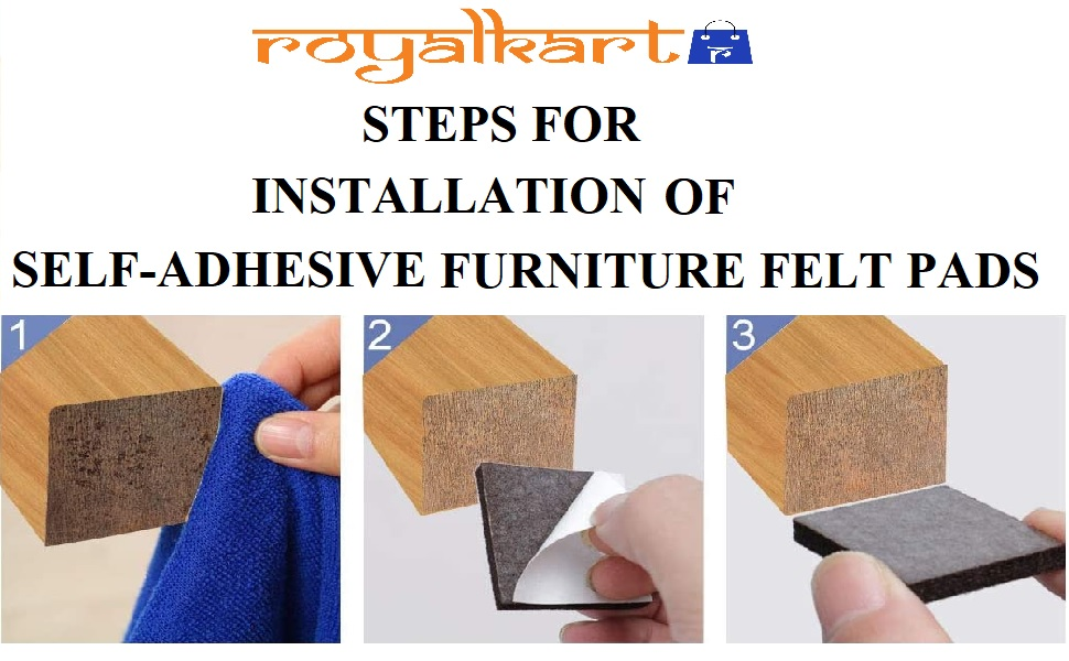 furniture felt pads