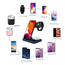 Widely Compatibility  Any Warphone 3 in 1 Wireless Charging Stand for Latest Airpods iPhone and iWatch, Compatible for iPhone 11 Pro Max/X/XS Max/8 Apple Watch Charger 5/4/ 3/2 /1 Airpods 2/3 3e5a4cca fb7a 4936 b2f1 273f44c9cb55