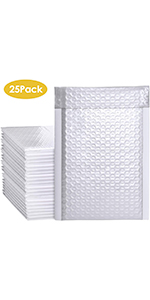 Bubble Mailers White