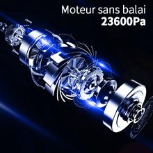 Puissante capacité d'aspiration de 23.6Kpa