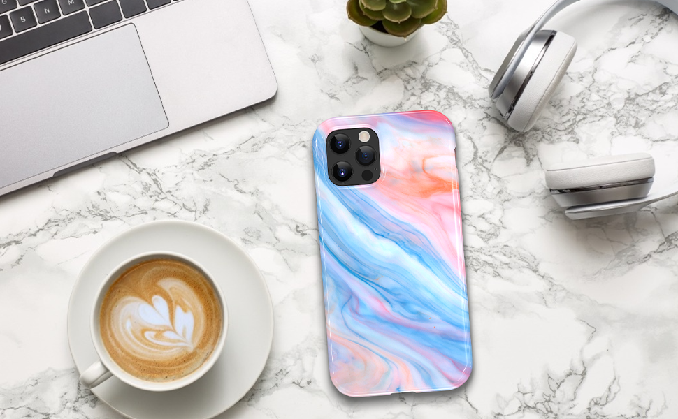 iphone 12 pro max marble case full body