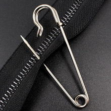 Safety Pins - High-Grade Steel, Nickel Plated, Rust Resistant