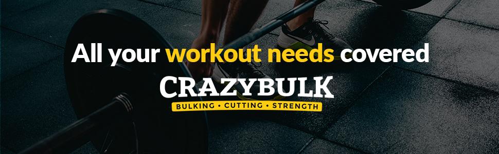 todas tus necesidades de entrenamiento cubiertas de fuerza de corte de volumen crazybulk