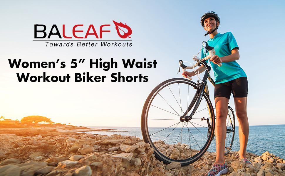 womens workout biker shorts