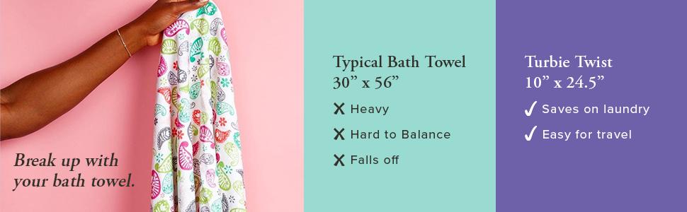 Super Absorbent Microfiber Hair Towel Wrap