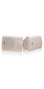 wireless outdoor speakers beige