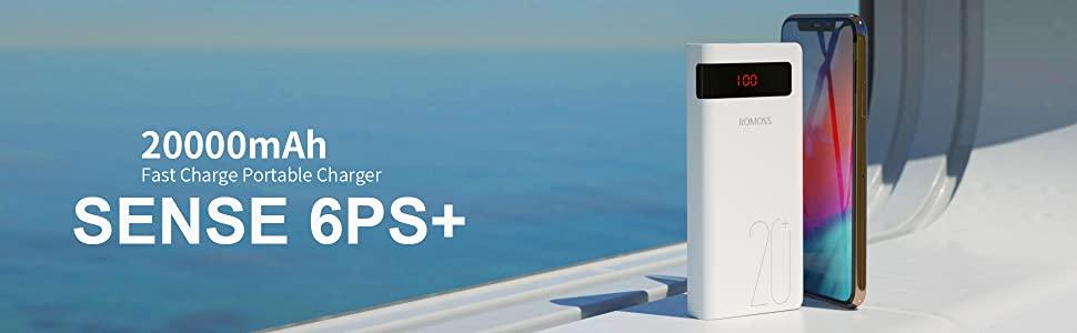 Sense 6ps+ Power Bank