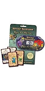 Munchkin Pathfinder, Munchkin, Pathfinder, kill o meter, role playing game, rpg