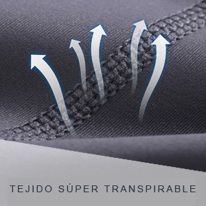 Tejido súper transpirable