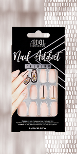 Ardell Nail Addict - Blush Geometric Crystals