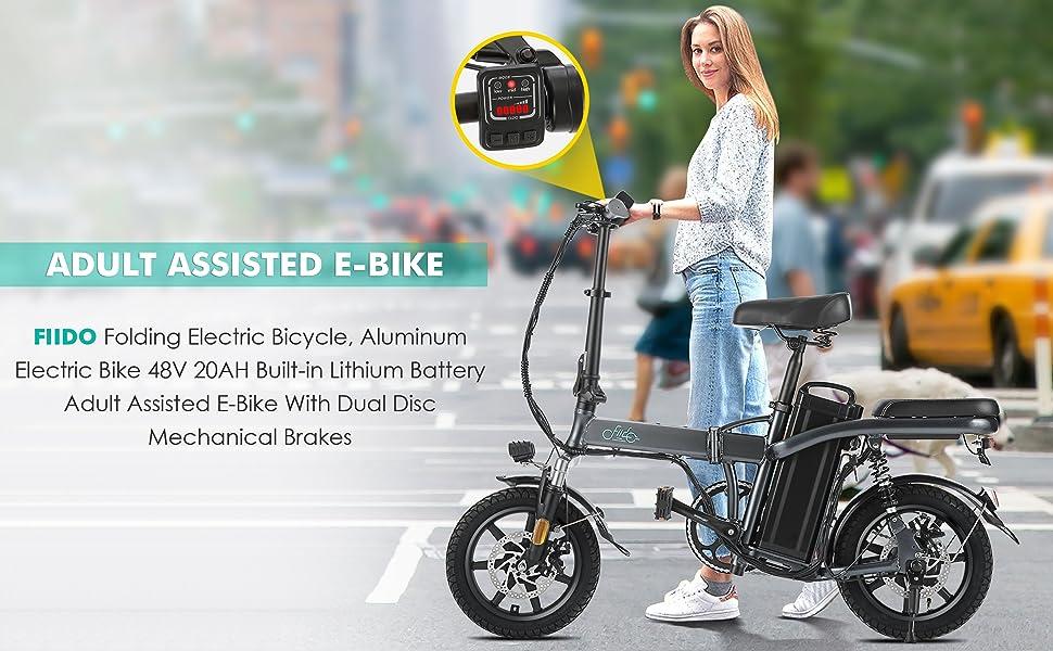 e-bike assistita per adulti