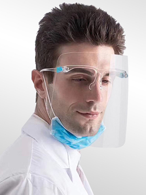face cover shield protect face