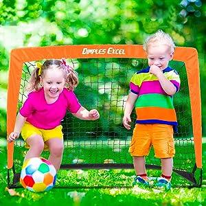 soccer goal baby kid child