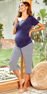 Maternity Pajamas Set