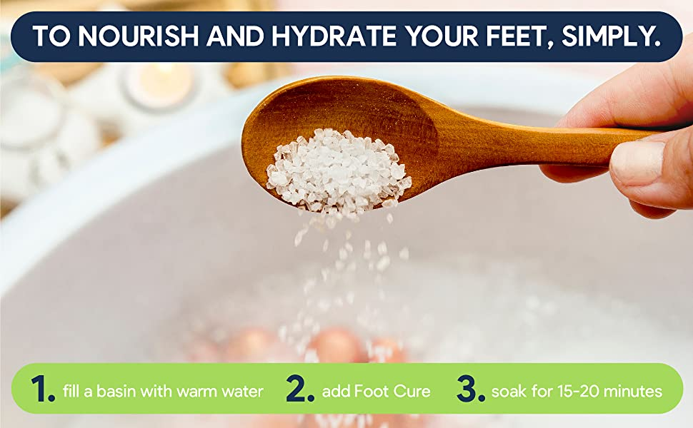 tea tree oil foot soak salt