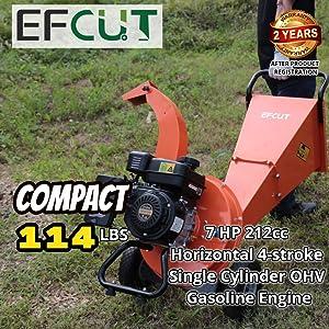 EFCUT C30 wood chipper shredder compact