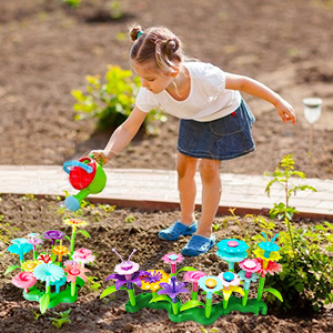 Outdoor Garden Toys flower garden building toys