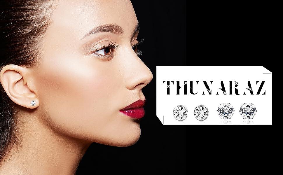 BD/_12PCS//Set Crystal Rhinestone Ear Stud Earrings Women Charm Earrings Jewelry