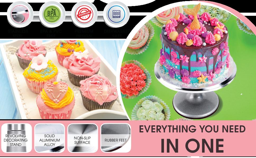 colorear uñas hacer hornear niños hacer plumas flores pasteles kits acopladores productos de punta completa materiales todos