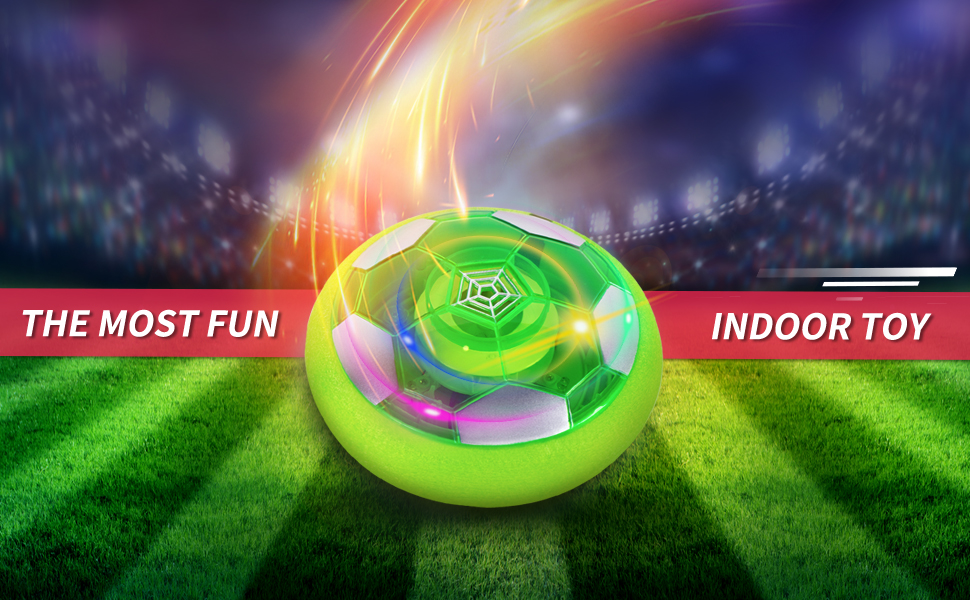 hover soccer ball toy set