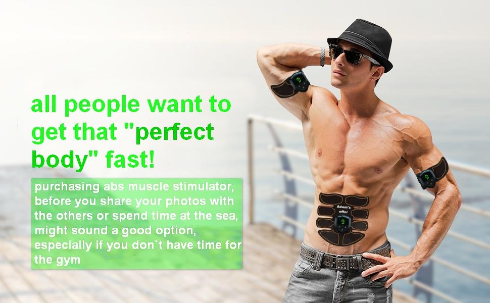abs muscle stimulator
