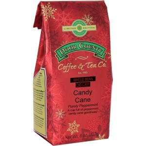 Candy Cane Decaf Flavored Coffee