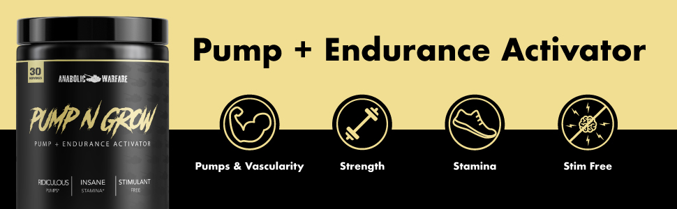 Pump + Endurance Activator