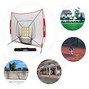 travel baseball net