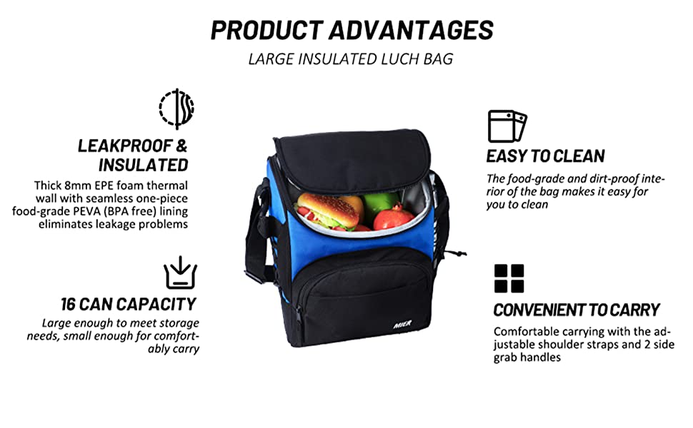 Stylish  fashionable lunch bag