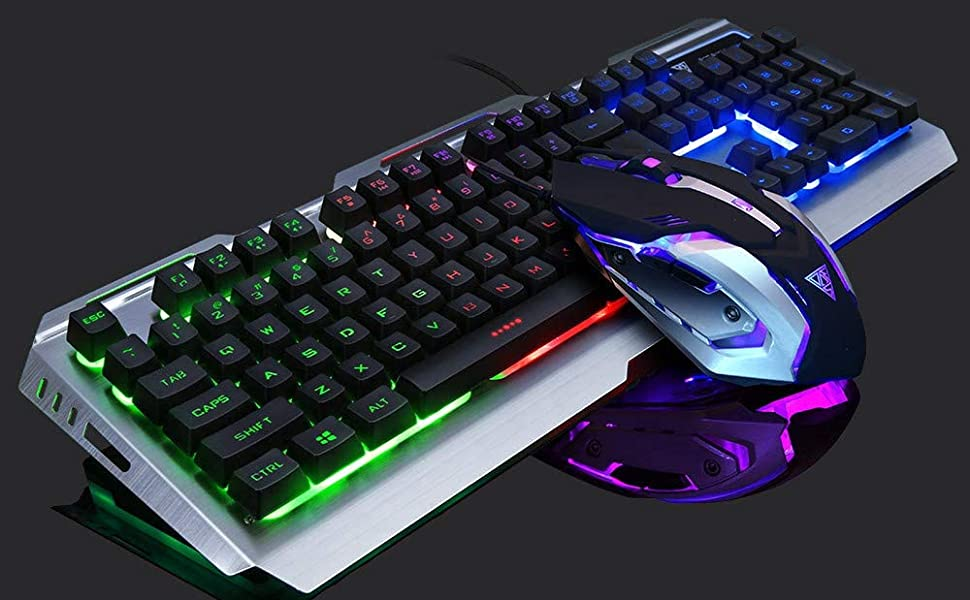 RGB Keyboard and Mouse for Gaming