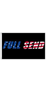 Full Send Flag Nelk Boys Flag