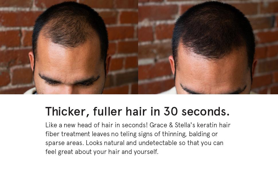 instant hair fibers