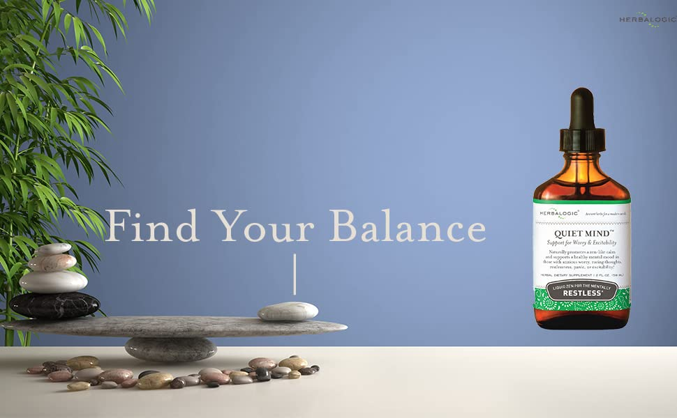 Find your balance with Herbalogic Quiet Mind