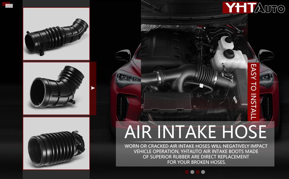 Aveo Aveo5 Pontiac G3 Suzuki Swiff Engine Air Intake Hose W//Sensor /& Clamps Fit