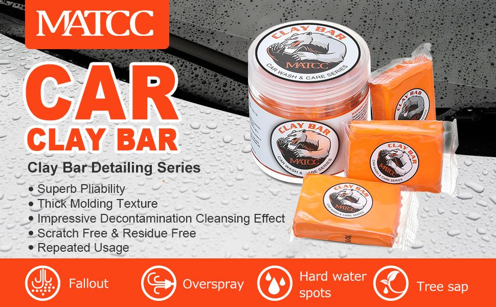 MATCC Car Clay Bar
