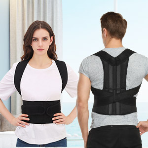 back corrector quickly straightens your shoulders and back