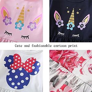 toddler girls t-shirt dresses