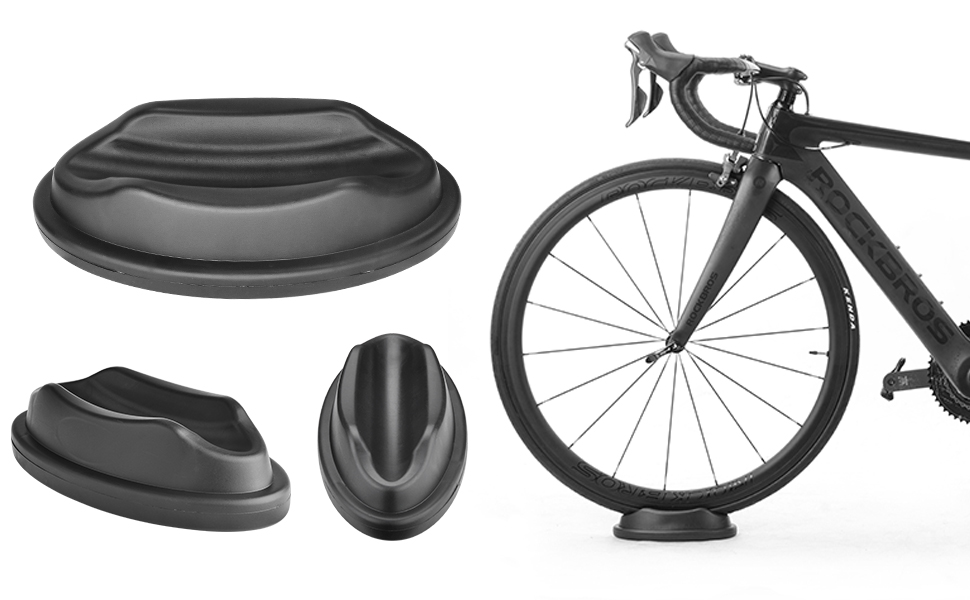 Bike Trainer Front Wheel Riser Block Stand Stabilize Support Bike Accessories