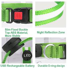 well design led dog collar