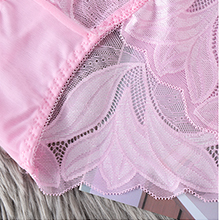 Floral pattern,match with skirts, panties, sports suit and will not produce underwear marks.
