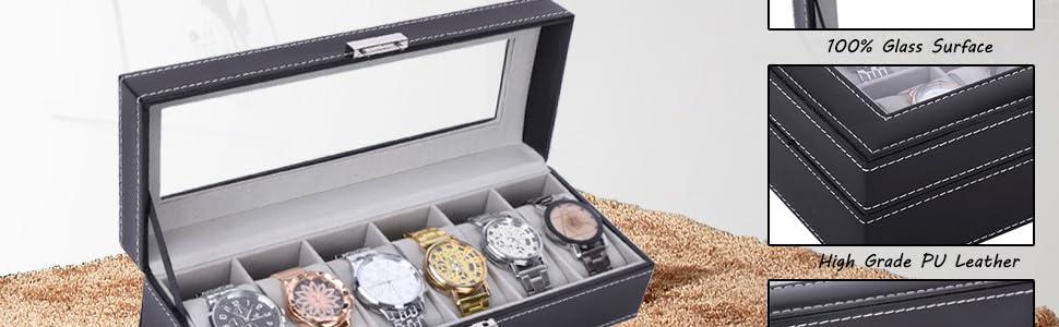Watch Accessories Jewelry Accessories men dresser organizer valet mens jewelry box