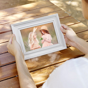 8x10 white picture frame