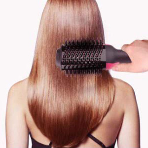 For straightening the hair