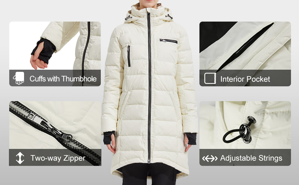 OROLAY DOWN COAT FOR WOMEN WINTER JACKETS