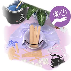 Hair wax applicator