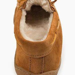 mocassin modern on outdoors oxford shoe size slip slipper soft sole soled suede width 10