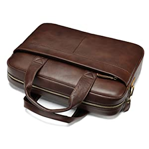 briefcase leather mens