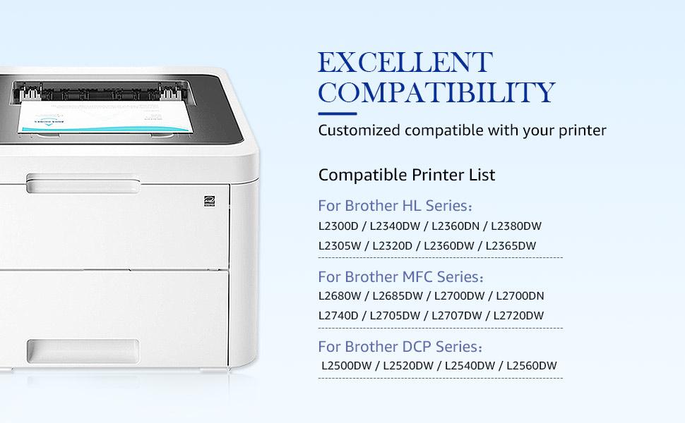 tn660 compatible printer