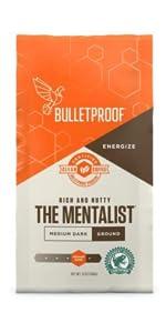 bulletproof MCT oil instamix brain octane grass-fed ghee instant coffee collagen peptide supplement
