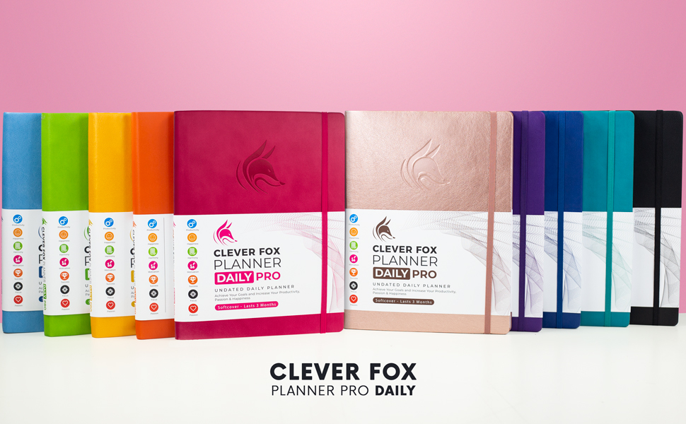 clever fox planner pro daily